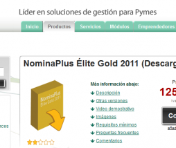 NominaPlus Élite Gold 2011 ya está disponible para todas las empresas