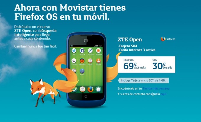 much zte open con android The
