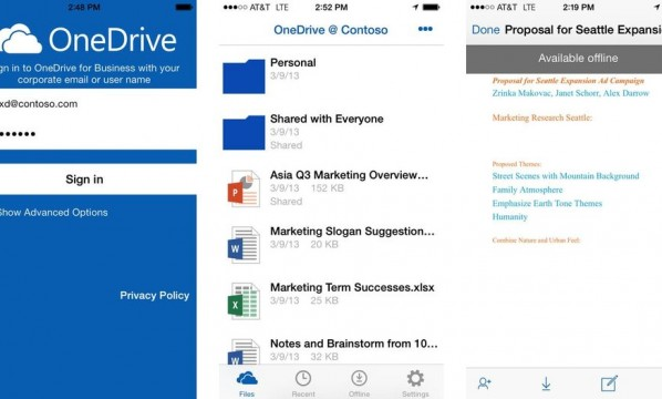OneDrive para Android