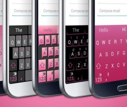 SwiftKey de color rosa