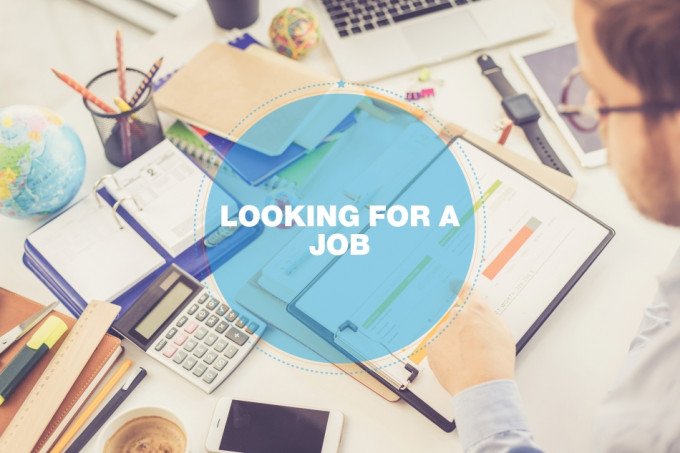 BUSINESS CONCEPT: LOOKING FOR A JOB