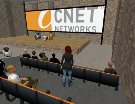 CNET en Second Life